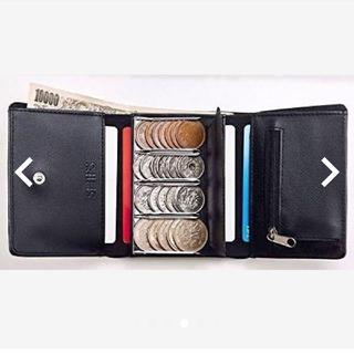 シップス(SHIPS)のコイン仕切り財布とポーチ(コインケース/小銭入れ)