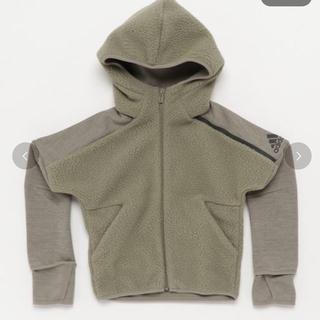 アディダス(adidas)の半額以下‼︎adidas  パーカー カーキ 新品 140(ジャケット/上着)