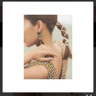 エイミーイストワール(eimy istoire)の❤️【送料込】定価3278円Helenaリング ブラウン(リング(指輪))