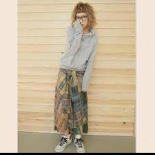 Ungrid - アングリッド♡パッチワークマキシシャツスカート