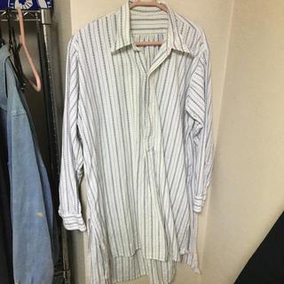 エンジニアードガーメンツ(Engineered Garments)のfrench vintage グランパシャツ 1930's -40's(シャツ)