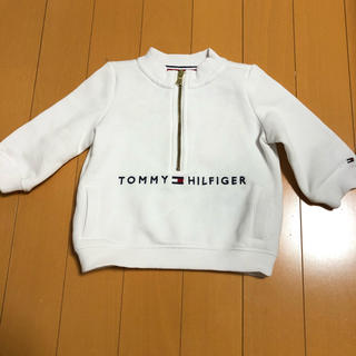 トミーヒルフィガー(TOMMY HILFIGER)の東様専用 tommy トップス 6M〜9M 白色(シャツ/カットソー)