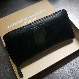キャサリンハムネット(KATHARINE HAMNETT)のキャサリン ハムネット 財布 新品未使用(長財布)