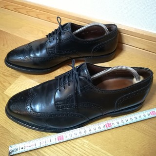 Allen Edmonds - ✨人気の旧ロゴ アレン・エドモンズ Concord 28.5cm 幅広 黒色