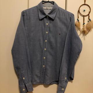トミーヒルフィガー(TOMMY HILFIGER)のトミーフィルフィガー ワイシャツ 100コットン(シャツ/ブラウス(長袖/七分))
