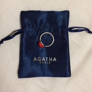 アガタ(AGATHA)の♡AGATHA paris リング赤7号(リング(指輪))