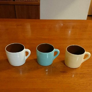 キャトルセゾン(quatre saisons)のキャトルセゾン マグカップ 3個セット(グラス/カップ)
