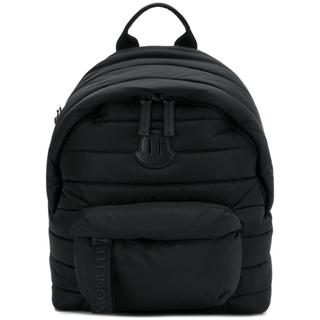 モンクレール(MONCLER)のモンクレール PELMO バックパック ブラック 黒 キルティング リュック(バッグパック/リュック)