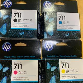 ヒューレットパッカード(HP)のhpプロッター T520 711インクカートリッジ(オフィス用品一般)