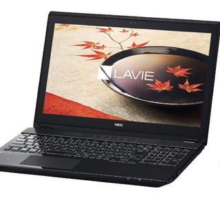 エヌイーシー(NEC)のNEC ハイスペック ノートパソコン Core i7 SSD128G HDD1T(ノートPC)