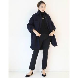 ドゥーズィエムクラス(DEUXIEME CLASSE)の【Deuxieme Classe♡TWEED シャツジャケット】新品 ネイビー(ピーコート)