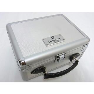 ウブロ(HUBLOT)のHUBLOT ウブロ ジュラルミンケース ハンドル部分ハンドメイド 時計ボックス(腕時計(アナログ))