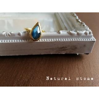 『ブルームーンストーン』の世界でひとつの天然石リング(リング(指輪))