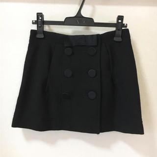 ジルバイジルスチュアート(JILL by JILLSTUART)のジルスチュアート★台形スカート 0(ミニスカート)