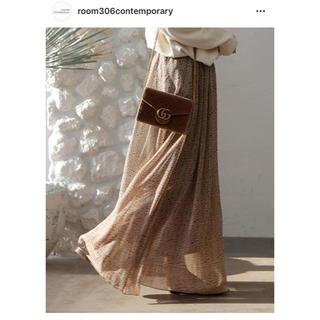 ルームサンマルロクコンテンポラリー(room306 CONTEMPORARY)のroom306CONTENPORARY シフォンスカート(ロングスカート)