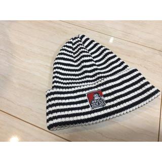 ベンデイビス(BEN DAVIS)のBENDAVISボーダーニット帽(ニット帽/ビーニー)