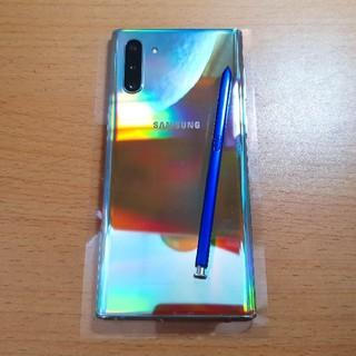 サムスン(SAMSUNG)のRahmawan様 Galaxy Note 10 5G 本体のみ 美品(スマートフォン本体)