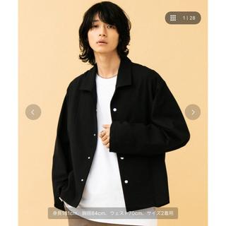 ステュディオス(STUDIOUS)のSTUDIOUS モナールオープンシャツジャケット(ブルゾン)
