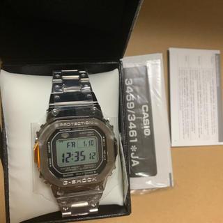ジーショック(G-SHOCK)のG-SHOCK GMW-B5000D-1JF 新品未使用 CASIOシルバー(腕時計(デジタル))