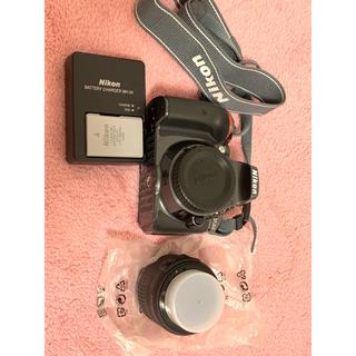 ニコン(Nikon)のNikon デジタル一眼レフカメラ D5300  レンズキット グレー(デジタル一眼)