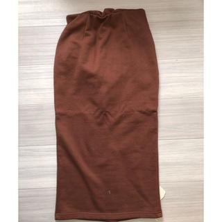 シールームリン(SeaRoomlynn)のSeaRoomLynn スウェットタイトスカート(ひざ丈スカート)