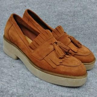 カスタネ(Kastane)の【37】カスタネ イタリア製 タッセルローファー(ローファー/革靴)