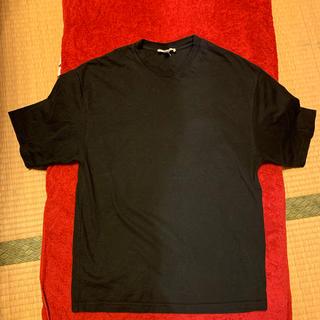 ハイク(HYKE)のHYKE  無地Tシャツ黒(Tシャツ/カットソー(半袖/袖なし))