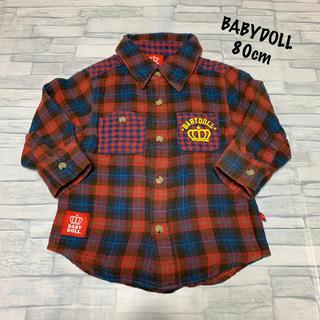 ベビードール(BABYDOLL)のBABYDOLLチェックシャツ(シャツ/カットソー)