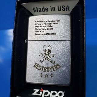 ジッポー(ZIPPO)の新品❤16B'ZIPPO❤COMMAND DESTROYERS❤送料無料(タバコグッズ)