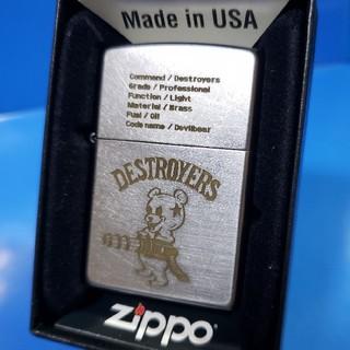 ジッポー(ZIPPO)の新品❤16H'ZIPPO❤DESTROYERS/DEVILL BEAR❤送料無料(タバコグッズ)