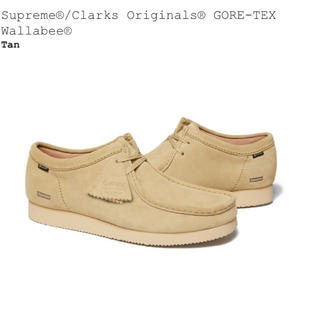 シュプリーム(Supreme)のSupreme/ClarksOriginalsGORE-TEX Wallabee(ブーツ)