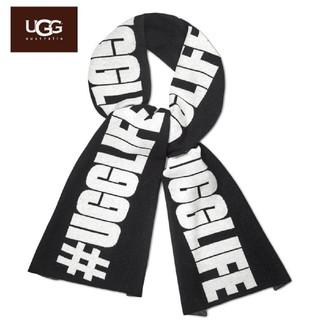 アグ(UGG)のUGG アグ/マフラー/ストール/UGGLIFE/BLACK(マフラー/ショール)