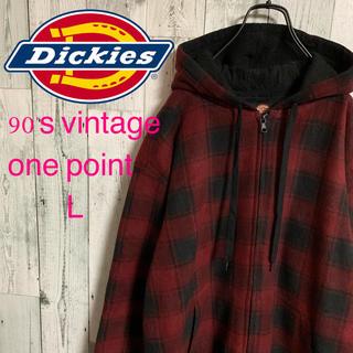 ディッキーズ(Dickies)の90's DICKIES ディッキーズ  フリースパーカー ゆるだぼ  激レア(パーカー)
