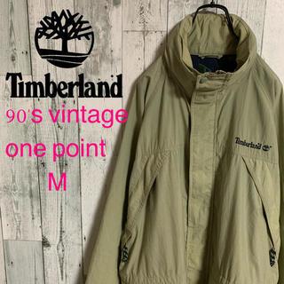 ティンバーランド(Timberland)の90's ティンバーランド ウェザーギア ロゴ刺繍 ナイロンジャケット 激レア(ナイロンジャケット)
