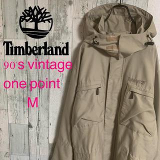 ティンバーランド(Timberland)の90's ティンバー ランド パフォーマンスロゴ刺繍 マウンテンジャケット 希少(ナイロンジャケット)