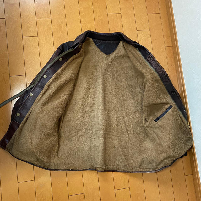 Lewis Leathers(ルイスレザー)のレザージャケット 革コート ビンテージ レザーカーコート メンズのジャケット/アウター(レザージャケット)の商品写真