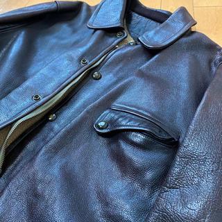 ルイスレザー(Lewis Leathers)のレザージャケット 革コート ビンテージ レザーカーコート(レザージャケット)