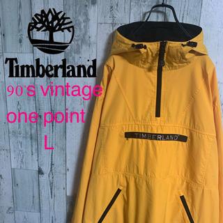 ティンバーランド(Timberland)の90's ティンバー ランド パフォーマンスロゴ刺繍 アノラックジャケット 美品(ナイロンジャケット)