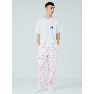 ALLOVER PRINT SWEAT PANT