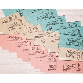 サンキューミニカード 40枚(カード/レター/ラッピング)