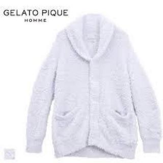 ジェラートピケ(gelato pique)のジェラピケ HOMME カーディガン(カーディガン)