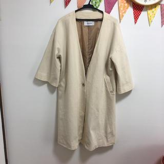 ジーナシス(JEANASIS)のJEANASIS☆ロングコート☆春先、秋まで着れます(ロングコート)