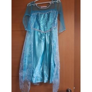 アナトユキノジョオウ(アナと雪の女王)のアナ雪エルサの衣装(ワンピース)