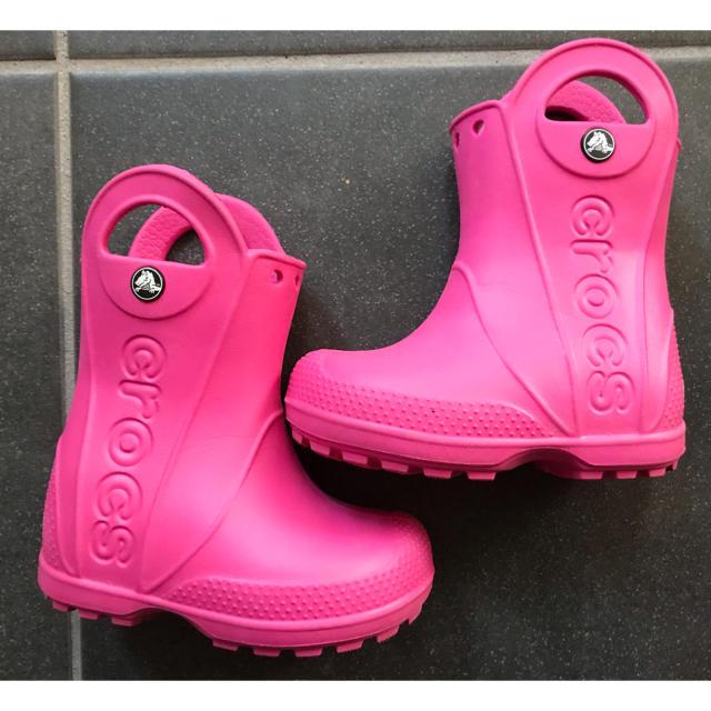 crocs(クロックス)のクロックス 14センチ キッズ/ベビー/マタニティのベビー靴/シューズ(~14cm)(長靴/レインシューズ)の商品写真