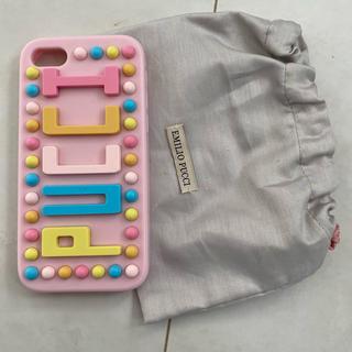エミリオプッチ(EMILIO PUCCI)のEMILIO PUCCI iPhoneケース(iPhoneケース)
