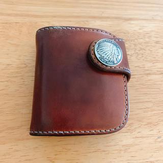 レッドムーン(REDMOON)のRED MOON パイロットリバー ショートウォレット used(折り財布)