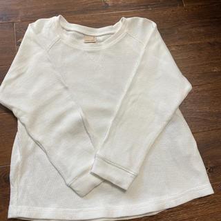 プティマイン(petit main)のpetit main ミッキーカットソー(Tシャツ/カットソー)