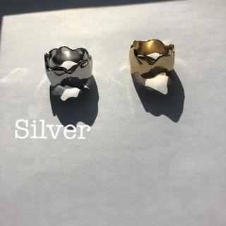 ユナイテッドアローズ(UNITED ARROWS)のウェーブメタルリング silver プラージュ(リング(指輪))