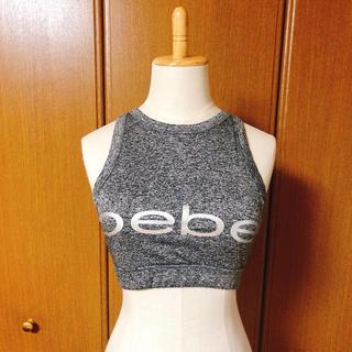 ベベ(BeBe)のbebe タンクトップ (ブラパット付)サイズS(タンクトップ)