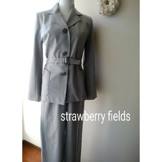 ストロベリーフィールズ(STRAWBERRY-FIELDS)のパンツスーツ ストロベリーフィールズ(スーツ)